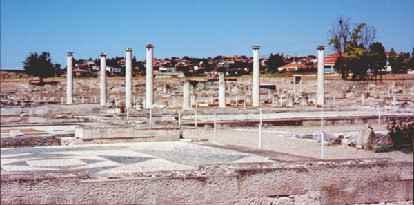 Pella, the capital of the Ancient Macedonian Empire