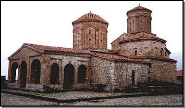 St. Naum Church in Ohrid